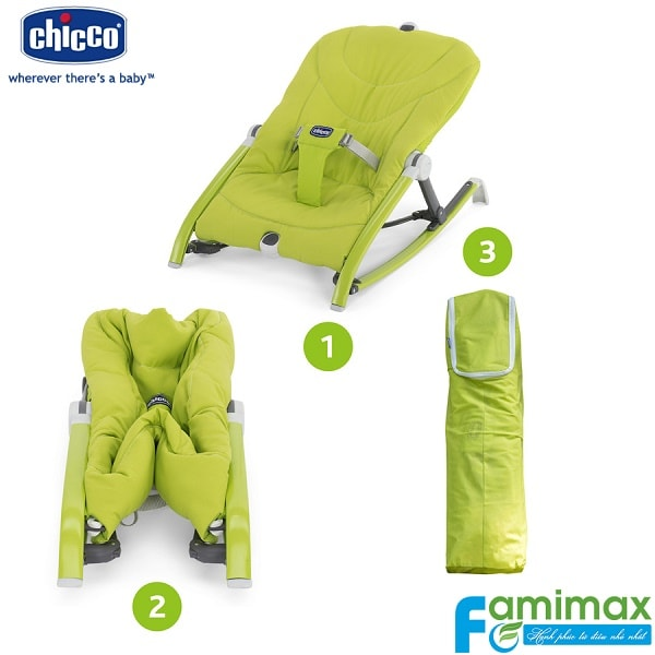 Ghế rung Chicco Pocket Relax