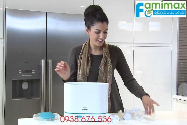 Có nên mua máy tiệt trùng bình sữa?