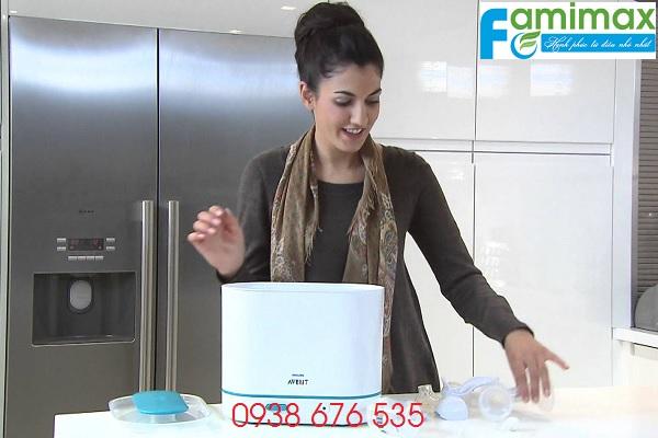 Dùng máy tiệt trùng bình sữa nào tốt?