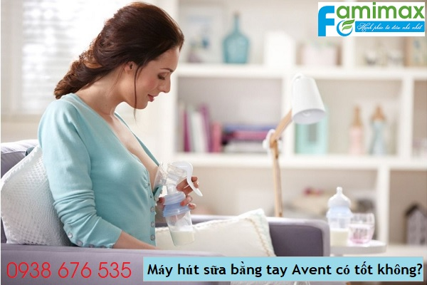 Máy hút sữa bằng tay Avent có tốt không?