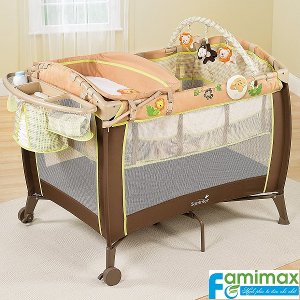 Nôi em bé Summer Grow with Me Playard & Changer
