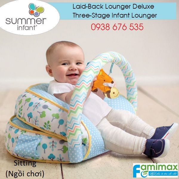 Nệm thư giản Summer Laid-Back Lounger Deluxe